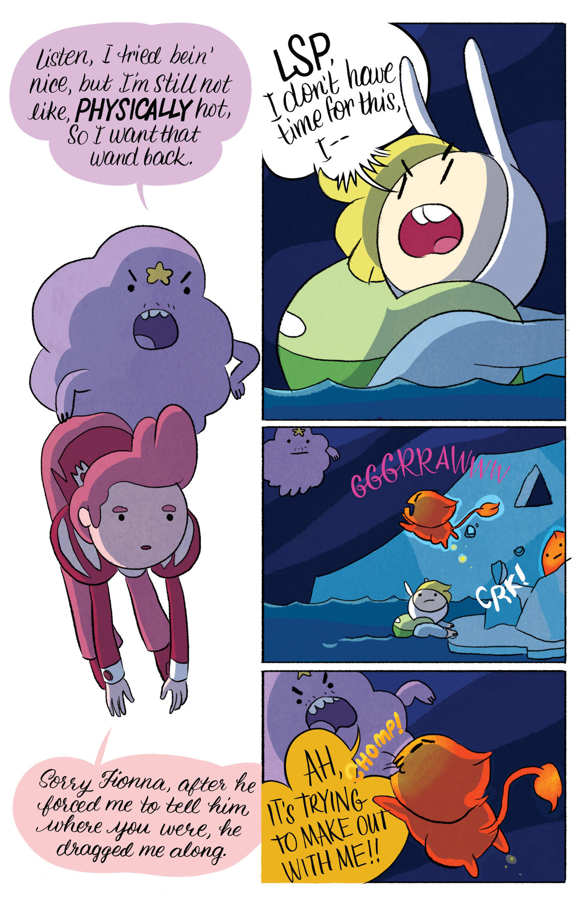 Read online Adventure Time with Fionna & Cake comic -  Issue #6 - 23