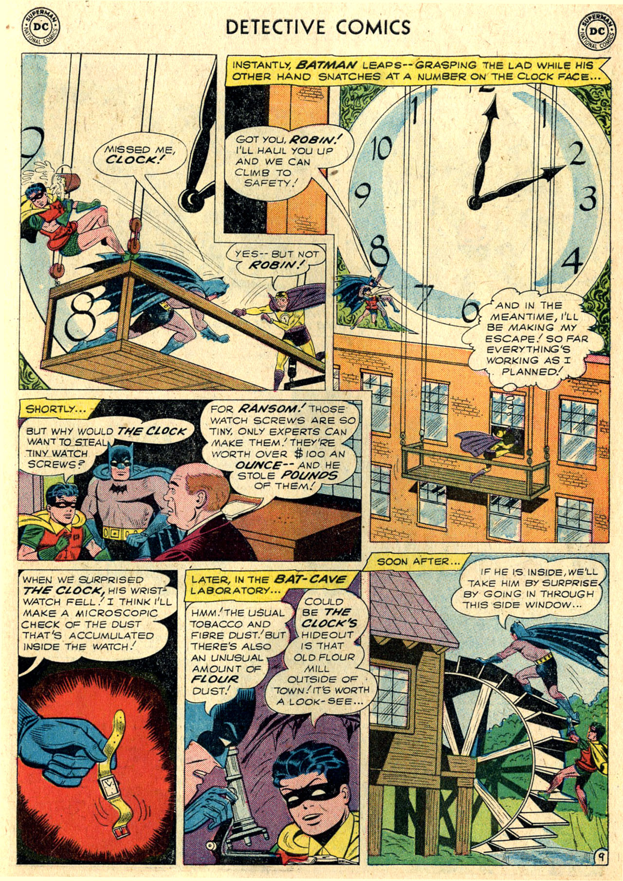 Read online Detective Comics (1937) comic -  Issue #265 - 11