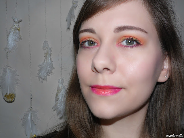 Du orange pour le Monday shadow challenge