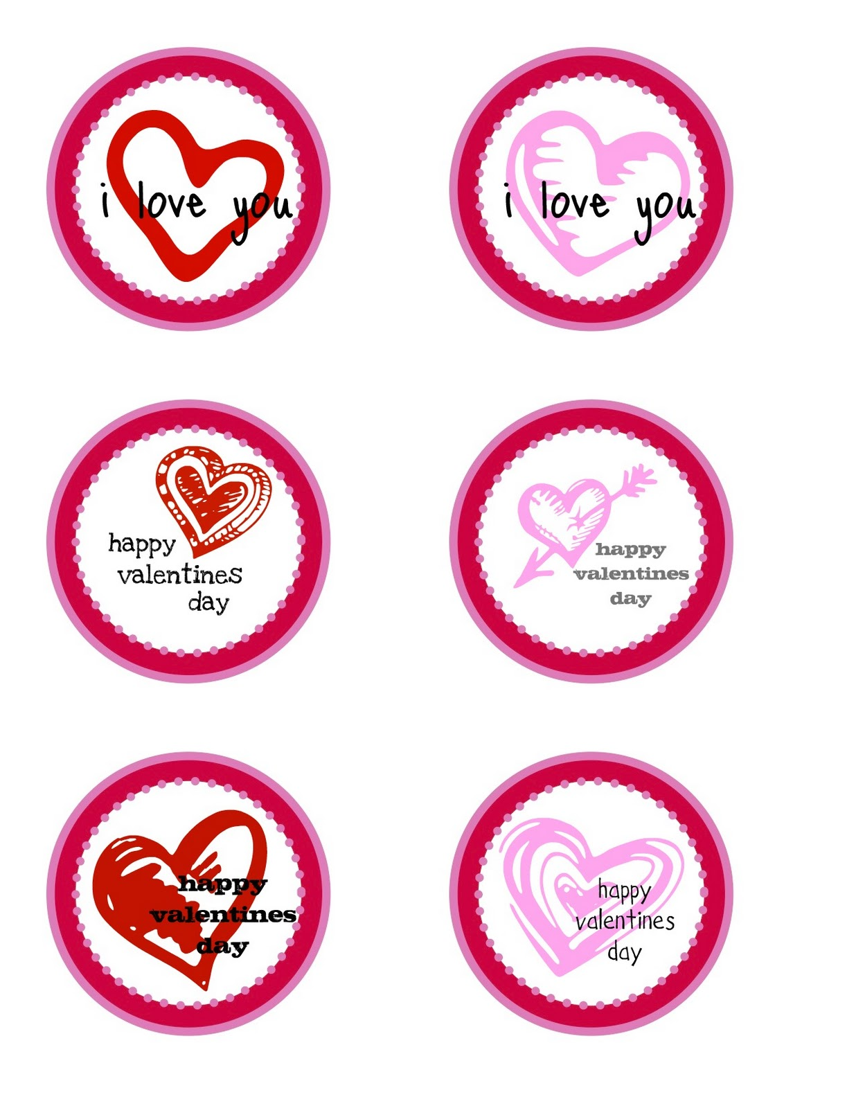 Free Printable Valentine S Day T Tags