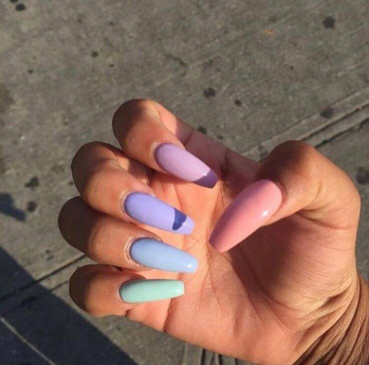 34+ Ombre Acrylic Nails Designs For The Summer Season 2019