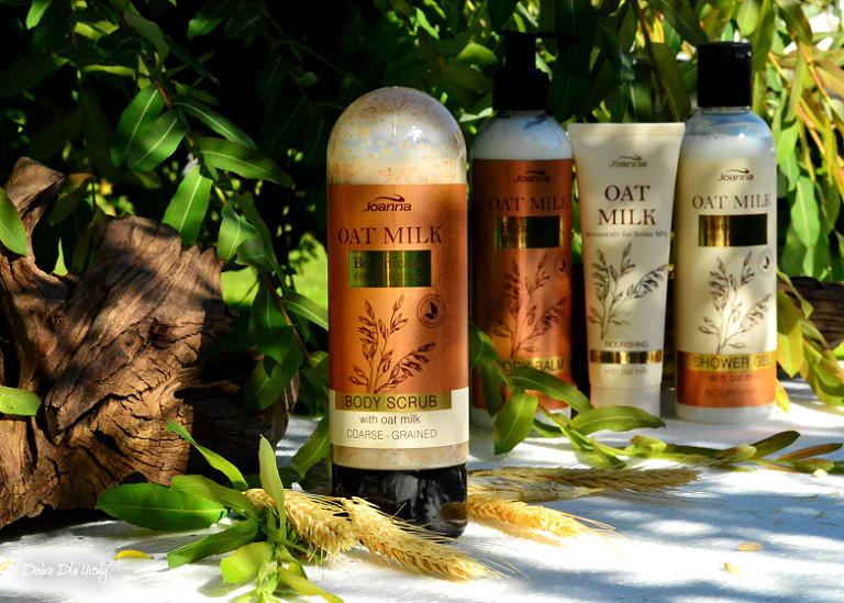 Joanna Botanicals for Home Spa Oat Milk -Peeling do ciała z Mleczkiem Owsianym