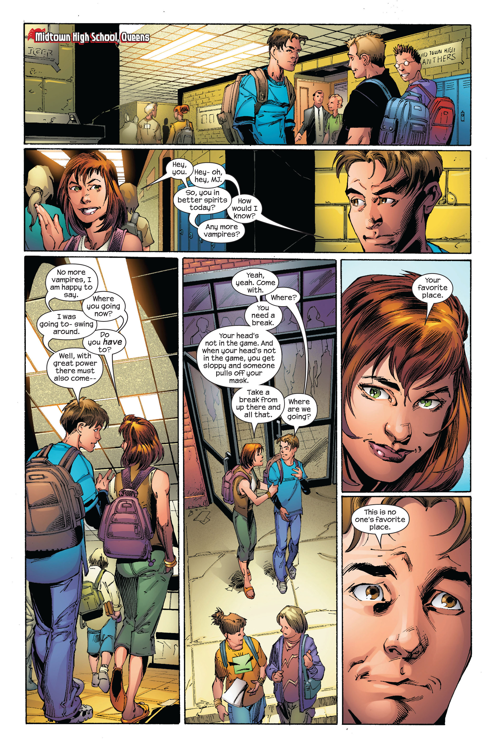 Read online Ultimate Spider-Man (2000) comic -  Issue #97 - 7