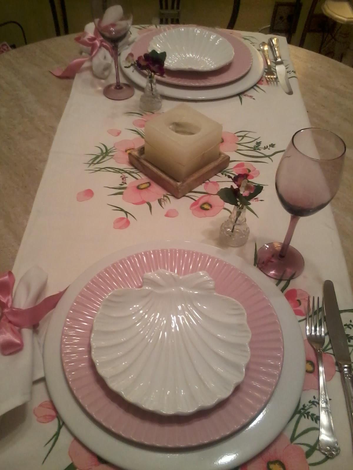 Casa Rosa Pimenta MESA POSTA ROSA