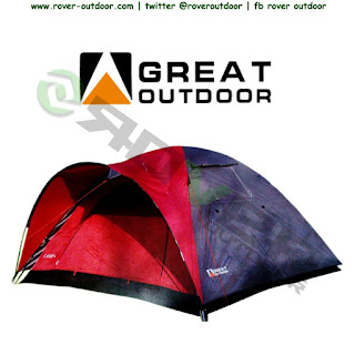 Tenda Gunung Dome Great Outdoor Camp