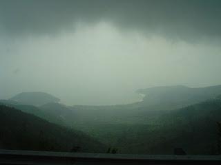 Passare le nuvole. Montagne in Danang
