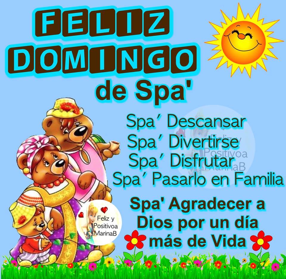 Imagenes Con Frases De Feliz Domingo Mizancudito