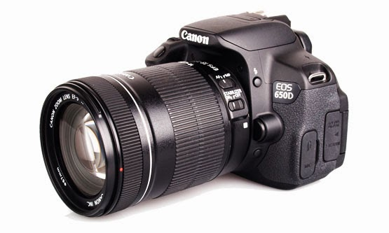 Harga dan Spesifikasi Kamera Canon 650D Terbaru
