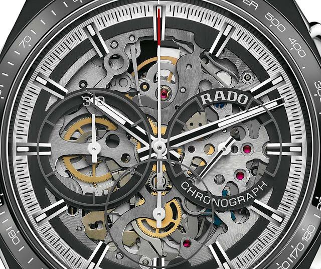 Rado HyperChrome Skeleton Automatic Chronograph ref. 653.0249.3.015