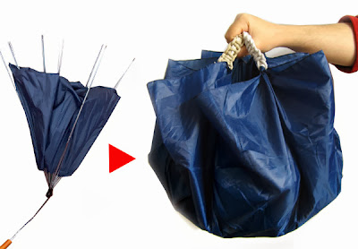 How to make a Bag from a Broken Umbrella