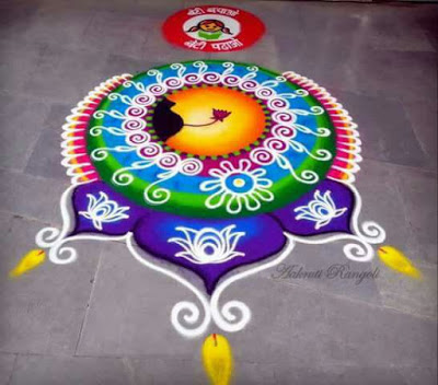 Easy Rangoli Designs for Diwali 2017