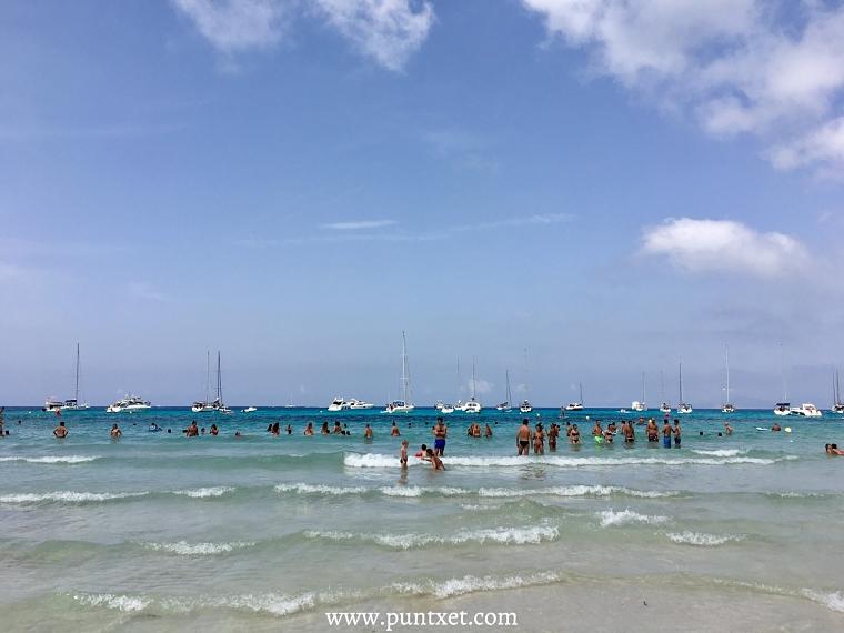 PUNTXET Viaje de 3 días a Formentera, Cala Saona
