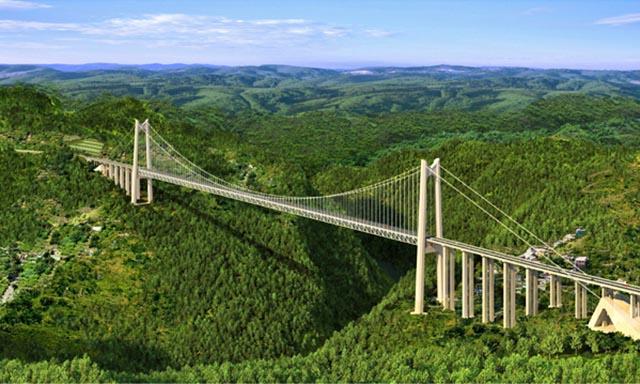 Qingshuihe River Bridge - China