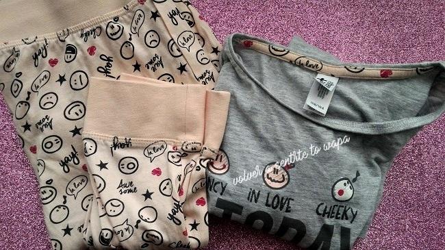 Pijamas de C&A de la sección de niña