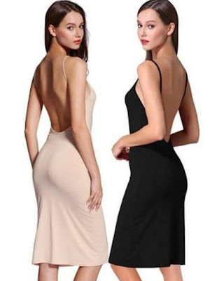 How to wear backless dress