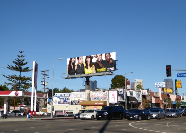 New Girl season 5 billboard