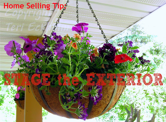 Spring Home Selling Tip: Stage the Exterior!
