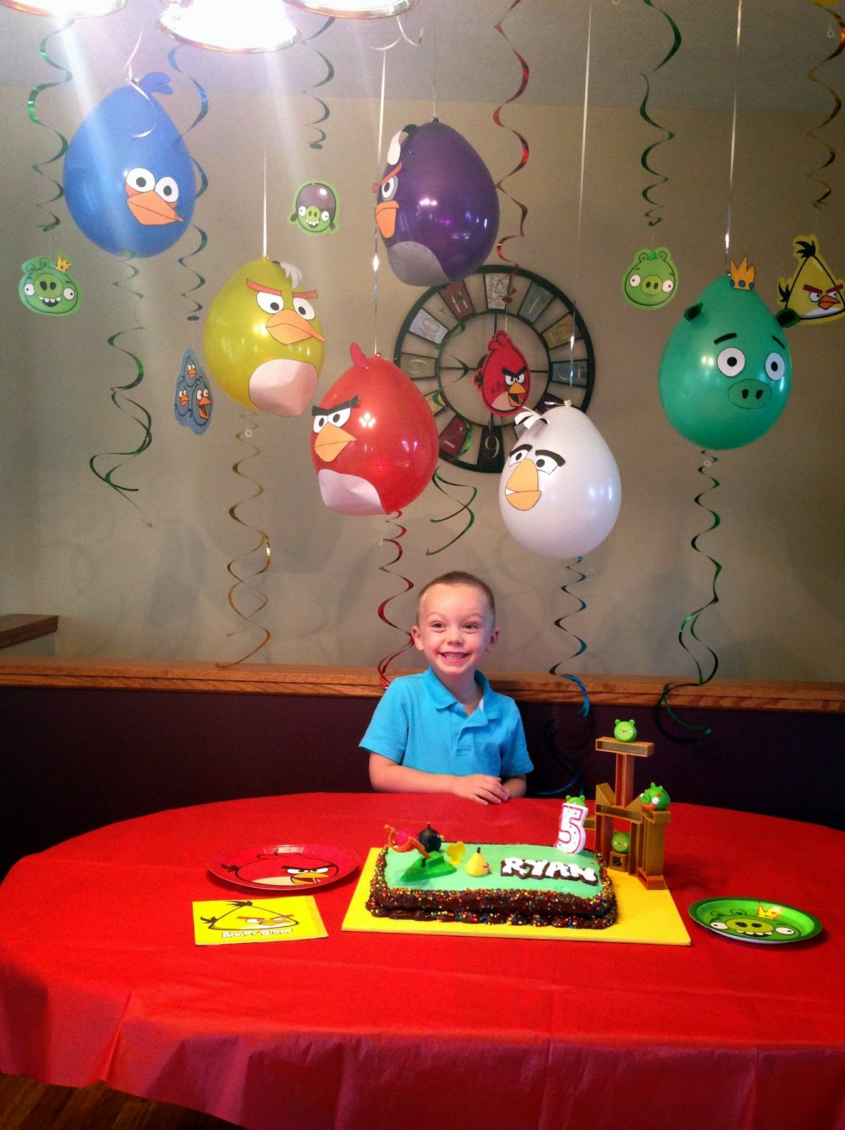 Cobo Angry Birds Birthday Party