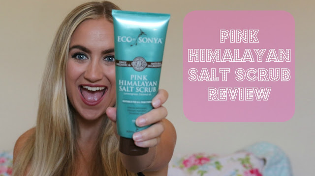 Eco by Sonya, Pink Himalayan Salt Scrub Review G Beauty