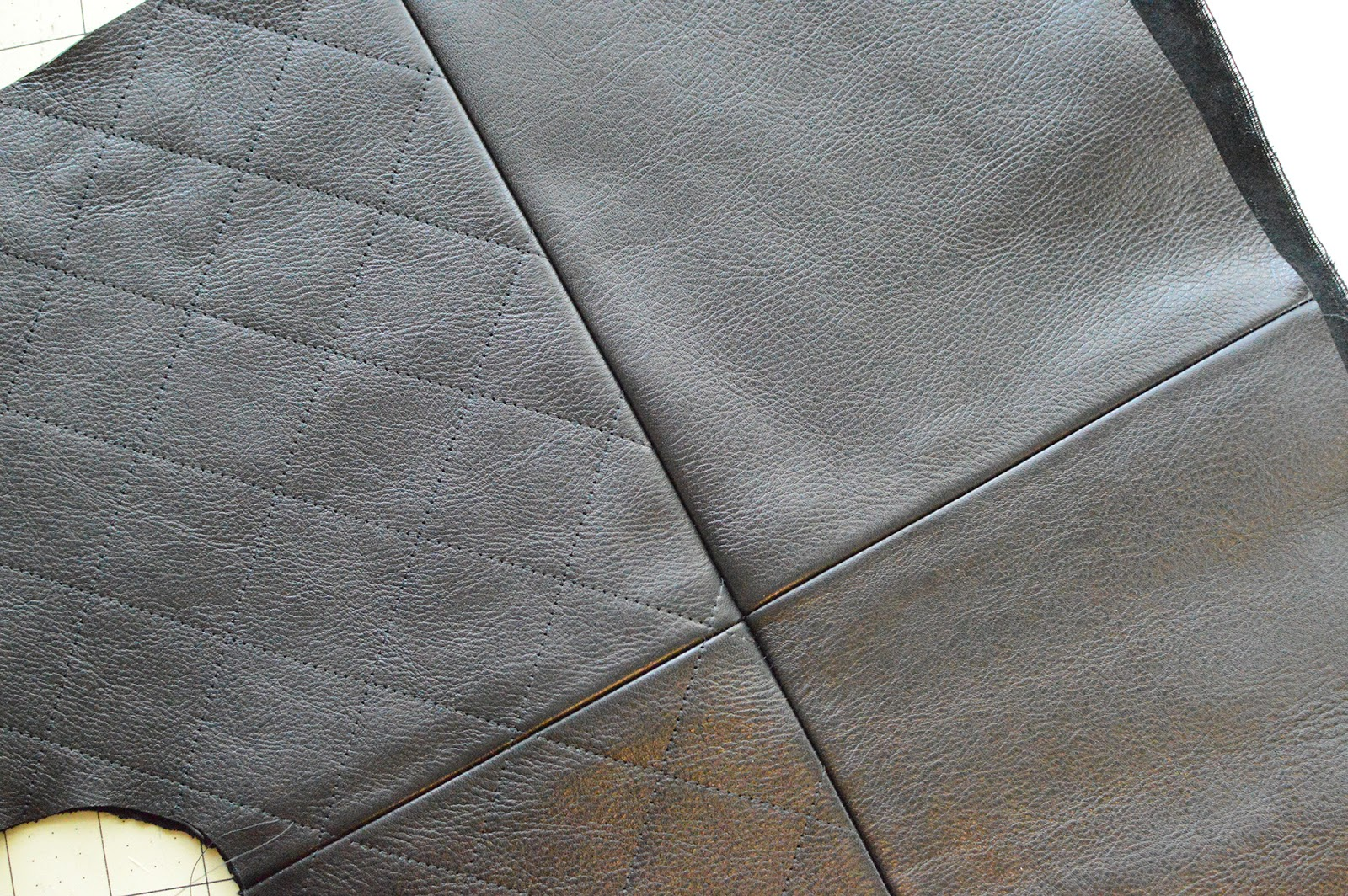 Allie Jackson: Quilting Leather and Construction Details/Changes ... : leather quilt - Adamdwight.com