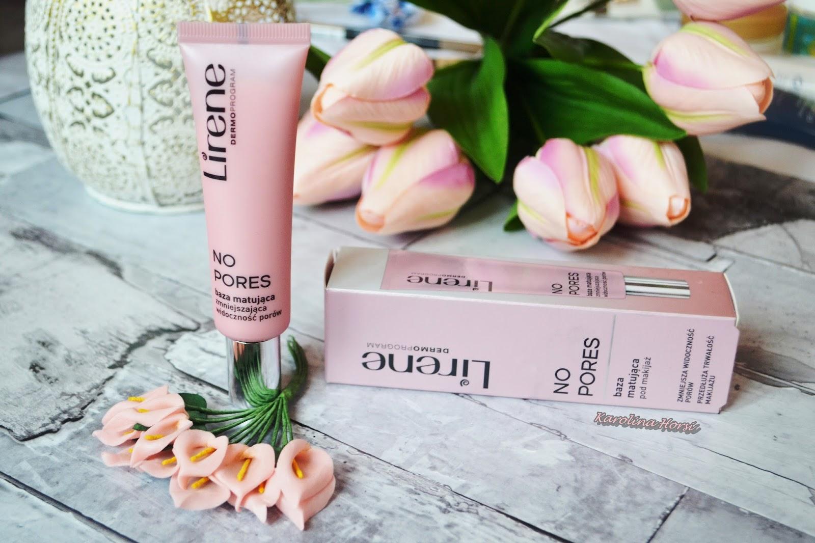 Lirene, No pores, baza matująca pod makijaż - szybki sposób na matową skórę przez cały dzień!