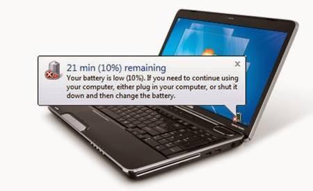 ampuh memelihara baterai laptop agar awet, tidak drop dan tahan lama