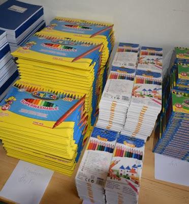 Σχολεία του Δήμου Κατερίνης ευχαριστούν την Εθελοντική Ομάδα Δράσης Ν. Πιερίας