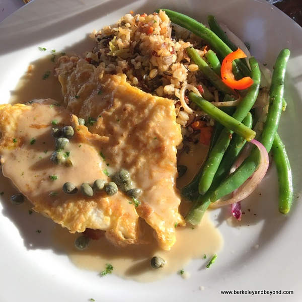 petrale sole at Sailor Jack's in Benicia, California