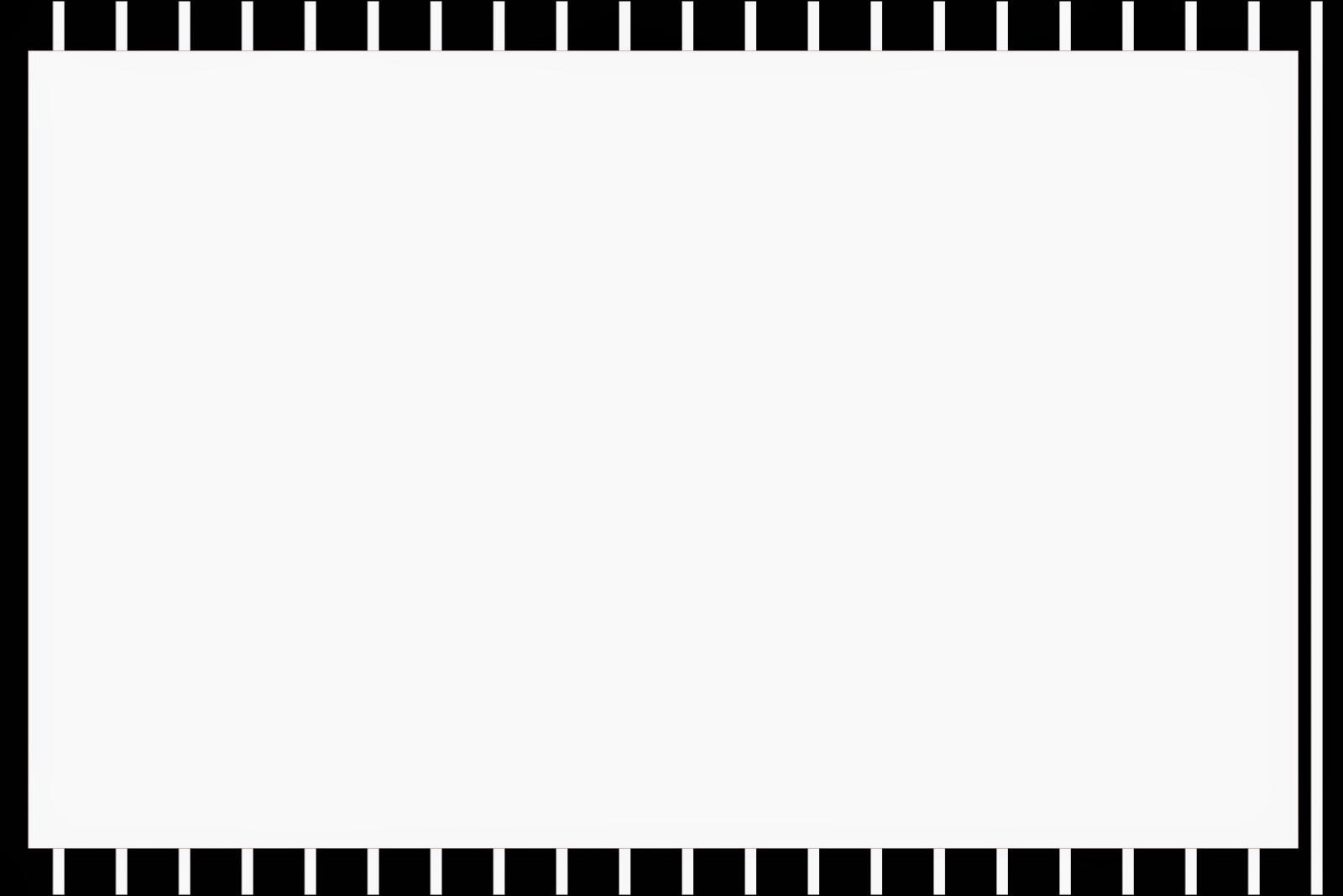 Rayas en Blanco y Negro: Invitaciones para Imprimir Gratis. | Oh My ...