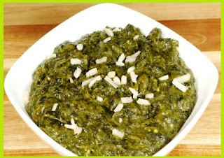 Palak With Besan Curry