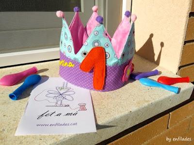 Corones d'aniversari d'Enfilades, divertides i personalitzades