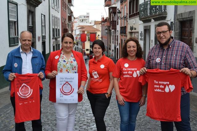 """Ayuntamiento y asociaciones empresariales animan a """"sumarse al rojo"""" con motivo del Día Mundial del Donante de Sangre"""