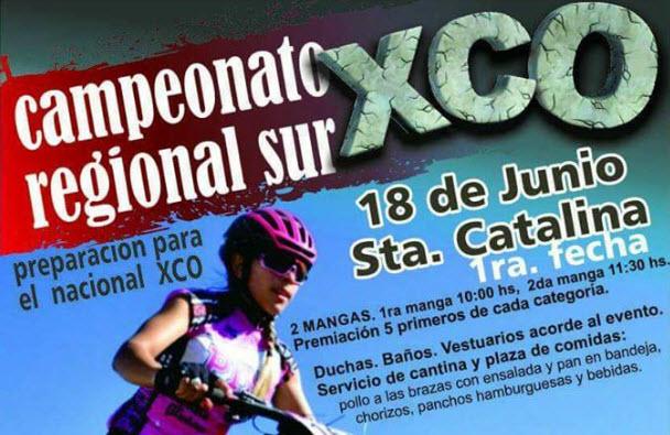 MTB - XCO Campeonato regional Sur en Santa Catalina (18/jun/2017)