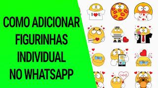 Como adicionar figurinhas individuais no whatsapp