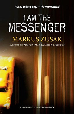 I am the Messenger gets 4 stars in my book review.  This young adult (YA/teen) read, by Printz Award winning author Markus Zusak is a great read, good character development, and stresses a good message about finding oneself and that you can do great and amazing things. Alohamora Open a Book http://alohamoraopenabook.blogspot.com/ boys, girls, teens, great book for essay assignment