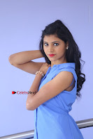 Telugu Actress Mounika UHD Stills in Blue Short Dress at Tik Tak Telugu Movie Audio Launch .COM 0038.JPG