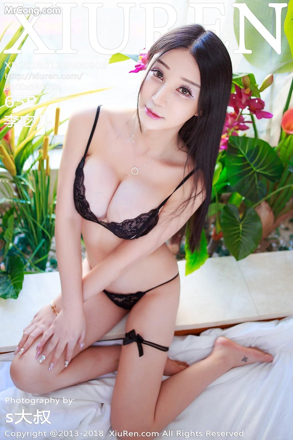 XIUREN No.905: Người mẫu Li Mi Er (李宓儿) (66 ảnh)