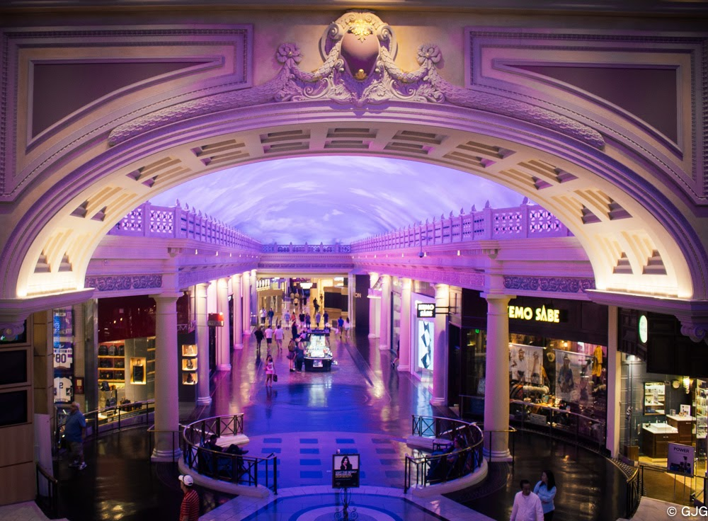 The Forum shops at Caesars The Las Vegas Strip travel diary
