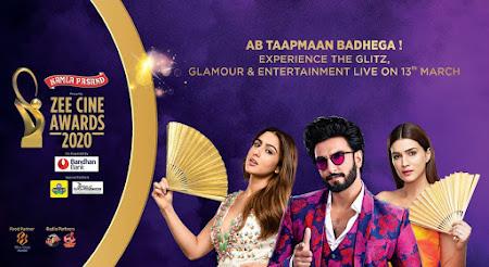 Poster Of Zee Cine Awards 2020 Watch Online Free Download