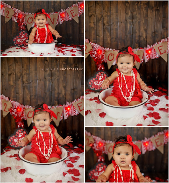 Valentines Day Portraits, Colorado Springs Portrait Photographer, 80925, Siblings, Cousins, baby in a bowl