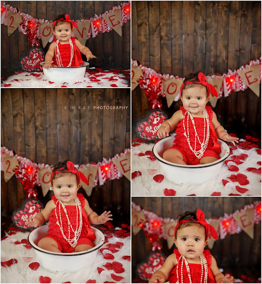 Melder Children & Baby Cousin G | Valentines Day Portraits | k 'N kae Photography | Colorado Springs