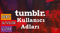 Sevgili kullanıcılarımız, sizler için birbirinden güzel Tumblr Kullanıcı Adları bulduk, buluşturduk ve bir araya getirdik. İşte en güzel Tumblr Kullanıcı İsimleri sizlerle.