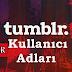 Tumblr Kullanıcı Adları