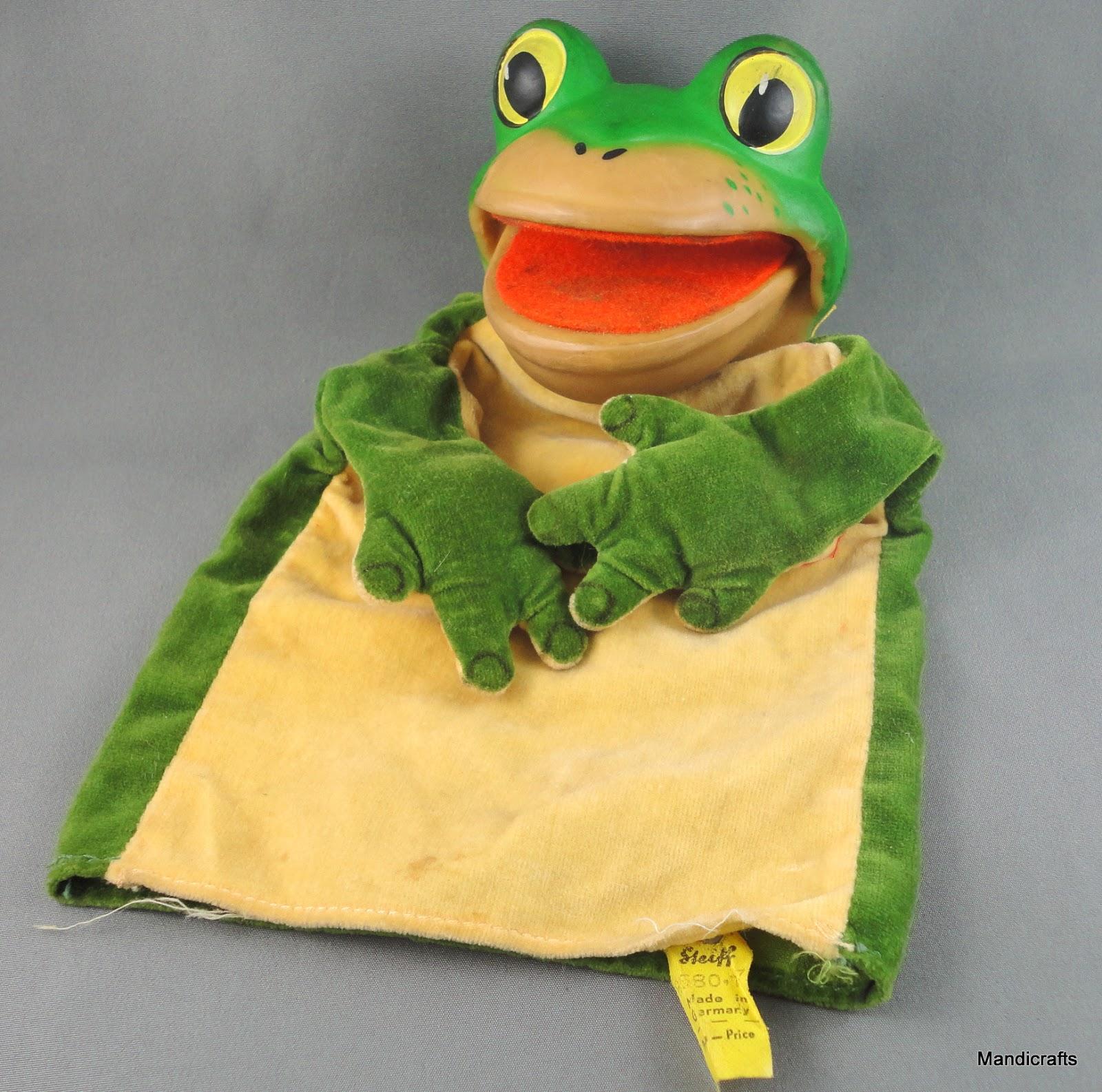 Steiff Frog Puppet