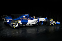 Sauber C36-Ferrari 2017 Rear Side
