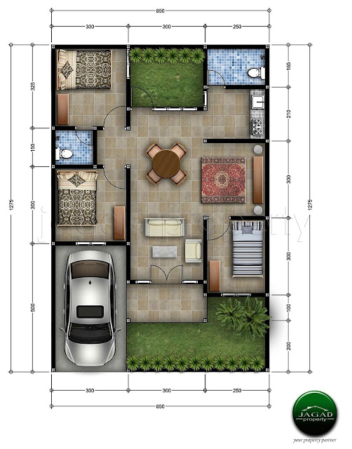 Rumah Baru jalan Magelang Km 8