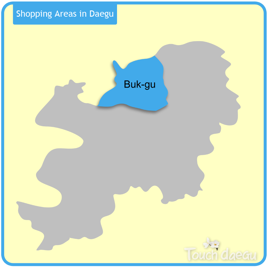Shopping Areas in Daegu-Buk-gu