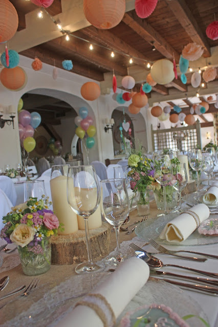 Restaurant im Seehaus, Pastell und Vintage Hochzeit in zarten Regenbogenfarben, Riessersee Hotel, Garmisch, Bayern, vintage lake-side wedding in pastel colours, Germany, Bavaria, wedding destination