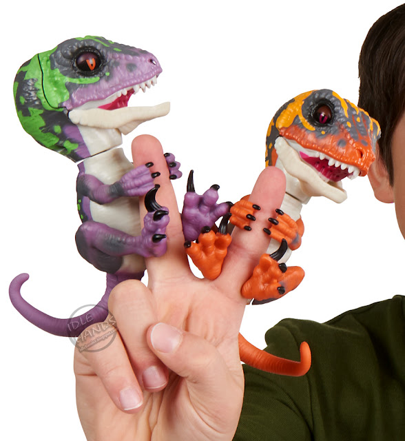 Wowwee Untamed Finger Dinosaur Toys