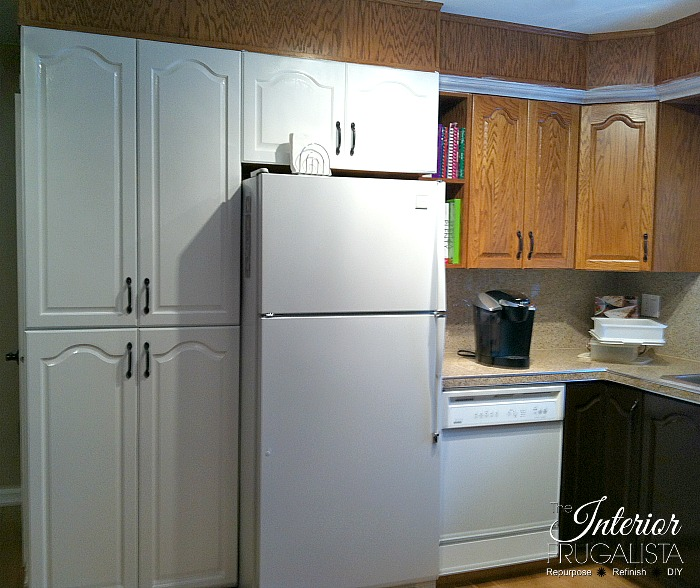 Painting Kitchen Oak Cabinets Pantry After